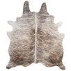 Deco Hides Natural Cowhide Grey Brindle Area Rug