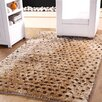 Affinity Home Collection Hand-Woven Beige Indoor Area Rug