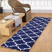 Affinity Home Collection Casa Platino Navy Area Rug