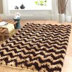 Affinity Home Collection Hand-Woven Beige/Cocoa Area Rug