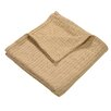 Affinity Home Collection Grant Woven 100% Cotton Throw Blanket