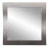 "Brandt Works LLC 32"" Square Silver Wall Mirror"