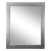 Brandt Works LLC Antique Nickel Silver Vanity Mirrors