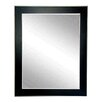 Brandt Works LLC Black and Silver Designer Accent Wall Mirror