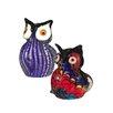 Dale Tiffany 2-Piece Owl Figurine