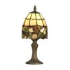 """Dale Tiffany Grape 13"""" H Table Lamp with Bowl Shade"""