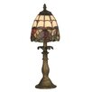 """Dale Tiffany Enid 14.5"""" H Table Lamp with Bowl Shade"""