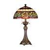 """Dale Tiffany Victorianna Aldridge 26"""" H Table Lamp with Bowl Shade"""