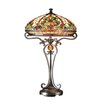 """Dale Tiffany Boehme 28"""" H Table Lamp with Bowl Shade"""