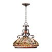 Dale Tiffany Boehme 3 Light Bowl Pendant
