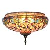 Dale Tiffany Dragonfly 2 Light Wall Sconce