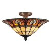 Dale Tiffany Dylan Tiffany 3 Light Flush Mount