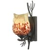 Dale Tiffany Spotted Owl 1 Light Wall Sconce