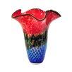 Dale Tiffany Nadia Ruffle Vase