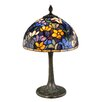 "Dale Tiffany Ridge 18.5"" H Table Lamp with Bowl Shade"