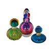 Dale Tiffany 3 Piece Apollo Perfume Bottle Set