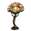 "Dale Tiffany Water Lily 15.3"" Table Lamp"