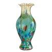 Dale Tiffany Festive Ruffle Vase