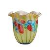Dale Tiffany Argentina Ruffle Vase