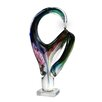 Dale Tiffany Contorted Sculpture