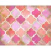 Renditions by Reesa Moroccan Pink Canvas Art