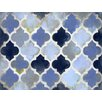 Renditions by Reesa Moroccan Blue Canvas Art