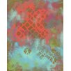 Renditions by Reesa Abstract Coral Canvas Art