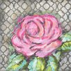 Renditions by Reesa Rose on Gray Abstract Pink Canvas Art