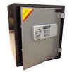 SafeCo 2 Hr Electronic Lock Home Fireproof Safe 1.24 CuFt
