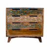 Design Tree Home Reclaimed Mango Wood 4 Drawer Chest