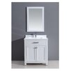 "Dawn USA 30"" Single Vanity Set with Mirror"