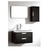 "Dawn USA 17"" Single Vanity Set with Mirror"