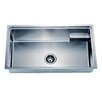 "Dawn USA 33.13"" x 19.19"" Under Mount Small Corner Radius Single Bowl Kitchen Sink"