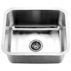 "Dawn USA 21.06"" x 18.13"" Under Mount Single Bowl Kitchen Sink"