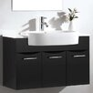 "Dawn USA European 15"" Single Vanity Set with Mirror"