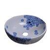 Dawn USA Ceramic Round Vessel Sink