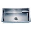 "Dawn USA 33.13"" x 19.19"" Under Mount Small Corner Radius Single Bowl Kitchen Sink"