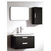 """Dawn USA European 17"""" Single Vanity Set with Mirror"""