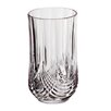 Studio Silversmiths Elegance Crystal Highball Glasses (Set of 6)