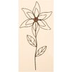 Metal Flower Garden Stick - Worth Imports Garden Statues and Outdoor Accents