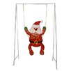 Penn Distributing Swinging Baby Santa Claus Lighted Christmas Decoration