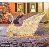 Penn Distributing Elegant Glittering Lighted Sleigh Christmas Decoration