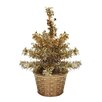 """Penn Distributing 8"""" Artificial Christmas Tree with 5 Warm Clear LED"""