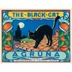 Signs 2 All The Black Cat Vintage Advertisement