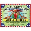 Signs 2 All Leinwandbild Snaider Syrup, Retro-Werbung