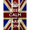 Signs 2 All Keep Calm and Carry On Graphic Art