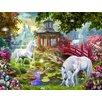 Signs 2 All Unicorn Summer House by Jan Patrik Krasny Graphic Art Plaque
