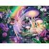 Signs 2 All Wandbild Fairy Raindrops, Grafikdruck von Steve Read