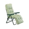 Glendale Leisure Deluxe Stripe Lounger with Cushion