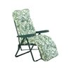 Glendale Leisure Deluxe Leaf Lounger with Cushion